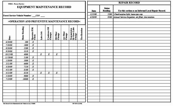 Heavy Equipment Maintenance Log Template Inspirational Screenprint 101 Spring Cleaning is A Good Use Of Downtime