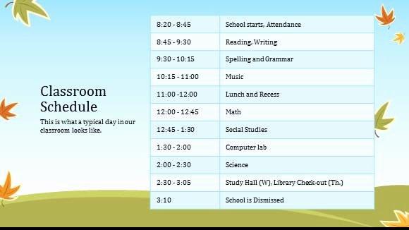 High School Schedule Template Luxury High School Schedule Template High School Schedule