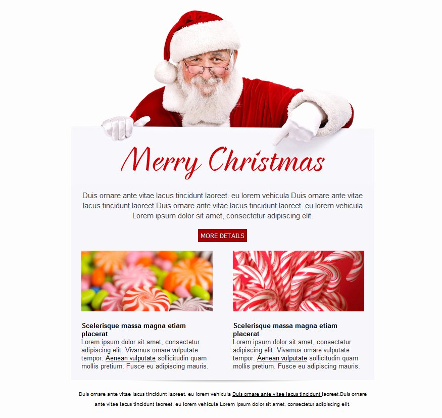 Holiday E Mail Template Best Of Free Email Templates for Christmas Card Greeting