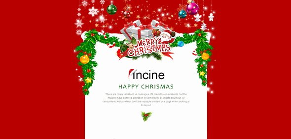 Holiday E Mail Template Elegant 10 Best Responsive Christmas Email Templates