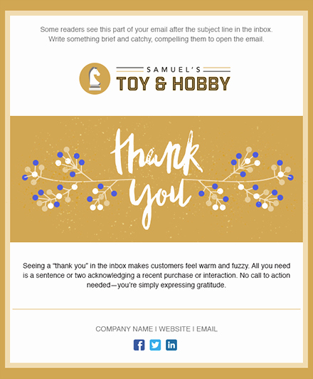 Holiday E Mail Template Fresh 11 Holiday Email Templates for Small Businesses & Nonprofits