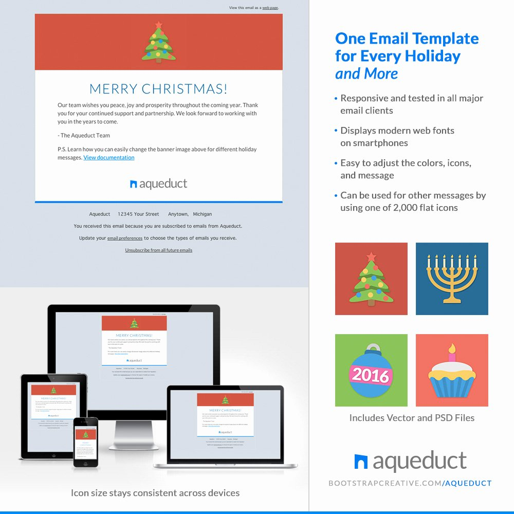 Holiday E Mail Template Unique Find the Right Christmas Newsletter Template for Your Site