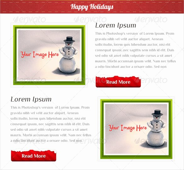 Holiday E Mail Template Unique Holiday Email Template – 18 Free Jpg Psd format Download