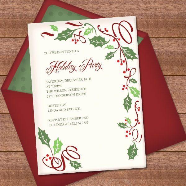 Holiday Party Invite Template Awesome Best 25 Invitation Templates Ideas On Pinterest
