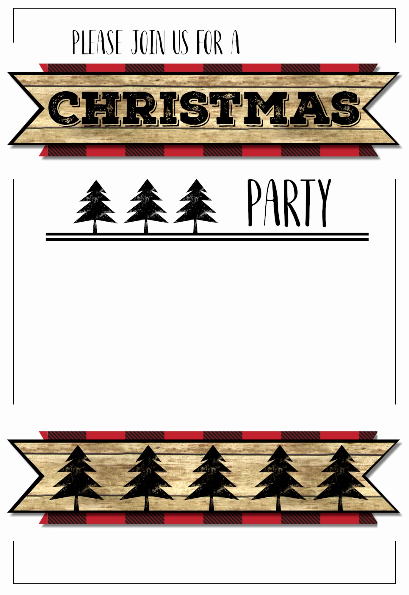 Holiday Party Invite Template Elegant Christmas Party Invitation Templates Free Printable