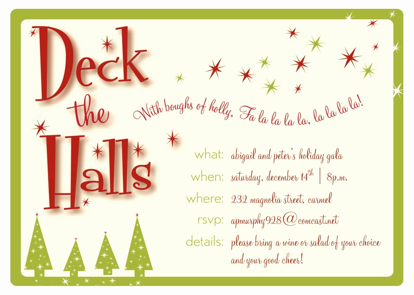 Holiday Party Invite Template Fresh Christmas Party Ticket Template Free Templates Station