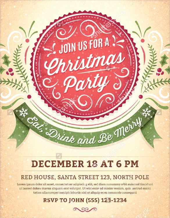 Holiday Party Invite Template Lovely 59 Invitation Templates Psd Ai Word Indesign