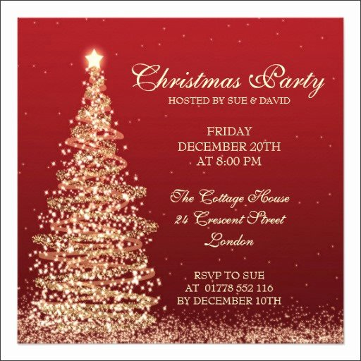 Holiday Party Invite Template Luxury 12 Printable Christmas Invitation Templates