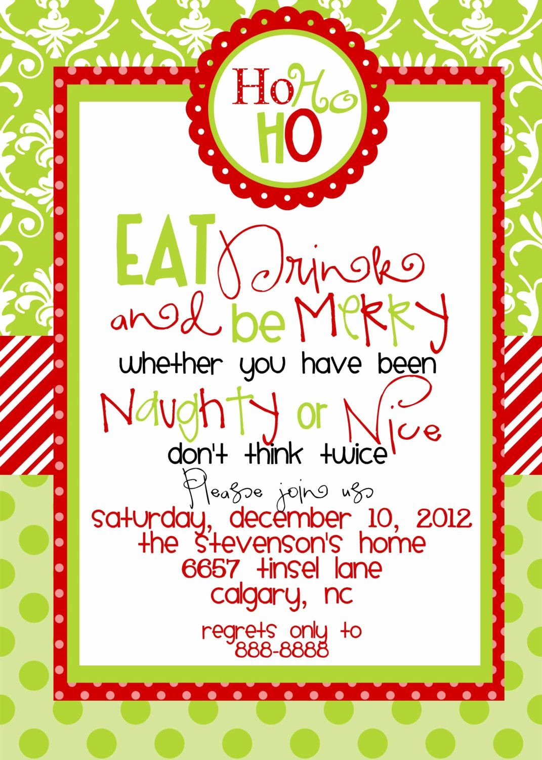 Holiday Party Invite Template Luxury Christmas Party Invitations Templates Free Printables