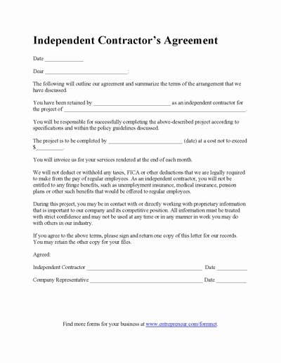 Home Construction Contract Template Inspirational Construction Contract Template Contractor Agreement