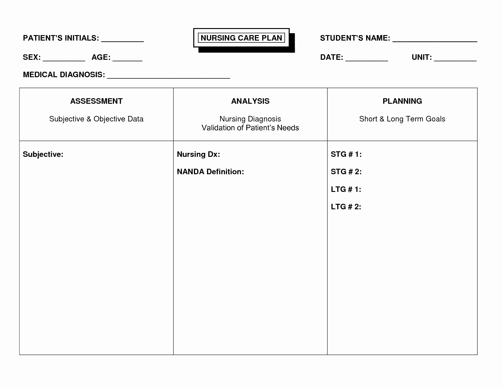 Home Health Care Plan Template Awesome Unique Nursing Home Care Plans 8 Nursing Care Plan