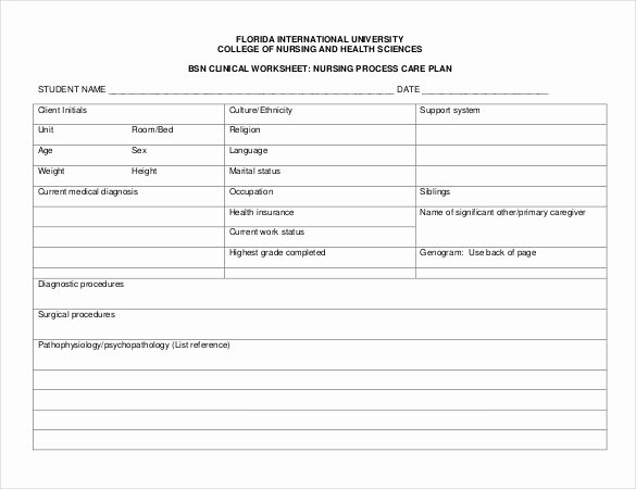 Home Health Care Plan Template Elegant Free Nursing Care Plan Templates Beepmunk