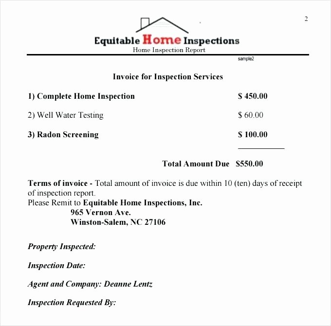 Home Inspection Report Template Pdf Luxury Beautiful Home Inspection Report Template