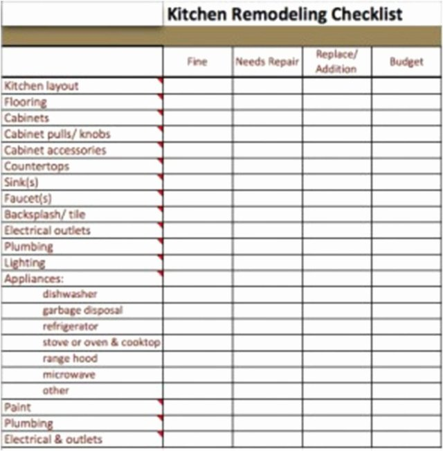 Home Renovation Project Plan Template Beautiful Punch List Template Professional Home Renovation Project