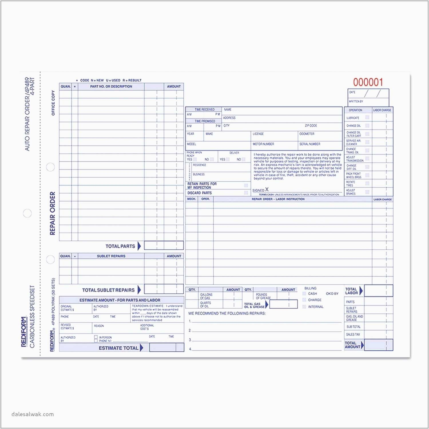 Home Repair Invoice Template Beautiful Home Repair Invoice Template Also 66 Beautiful Auto Repair