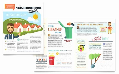 Homeowners association Newsletter Template Awesome Free Newsletter Template Design Studiojpilates
