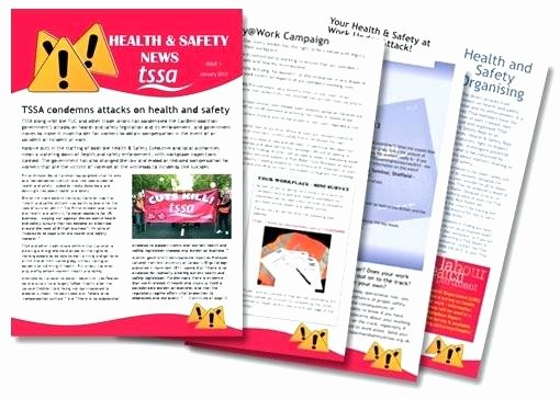 Homeowners association Newsletter Template Luxury Health and Safety Newsletter Template Homeowners