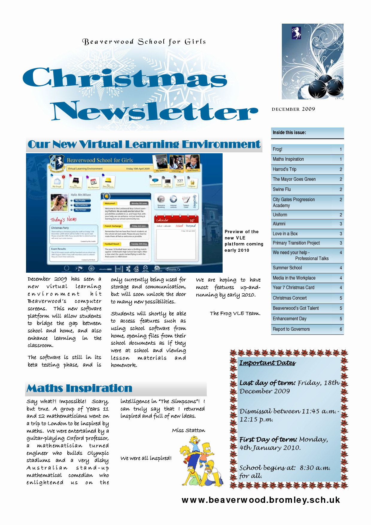 Homeowners association Newsletter Template Unique 5 Best Of Newsletter Design Ideas Business