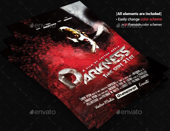 Horror Movie Poster Template Awesome 20 Cool Horror Poster Templates – Design Freebies