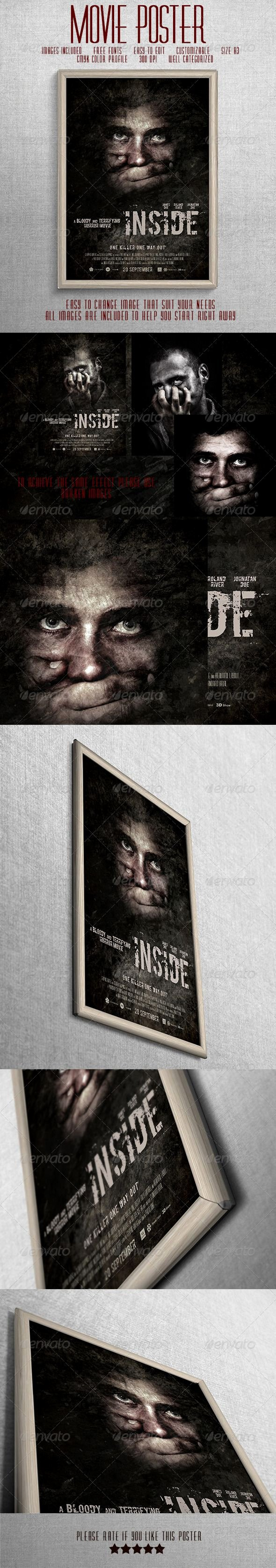 Horror Movie Poster Template Inspirational Best 25 Movie Poster Template Ideas On Pinterest