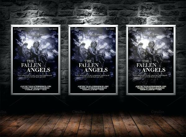 Horror Movie Poster Template Lovely Movie Poster Free Template Old Download – Flybymedia