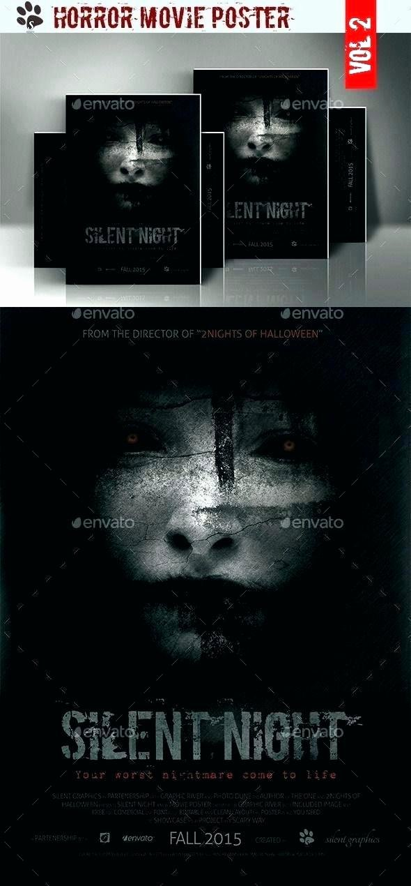 Horror Movie Poster Template Lovely Poster Template Shop Free Horror Movie Download
