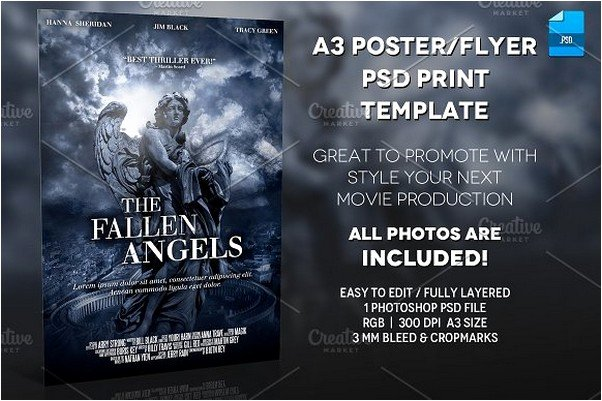 Horror Movie Poster Template Luxury 20 Best Movie Poster Mockups for Design Presentation