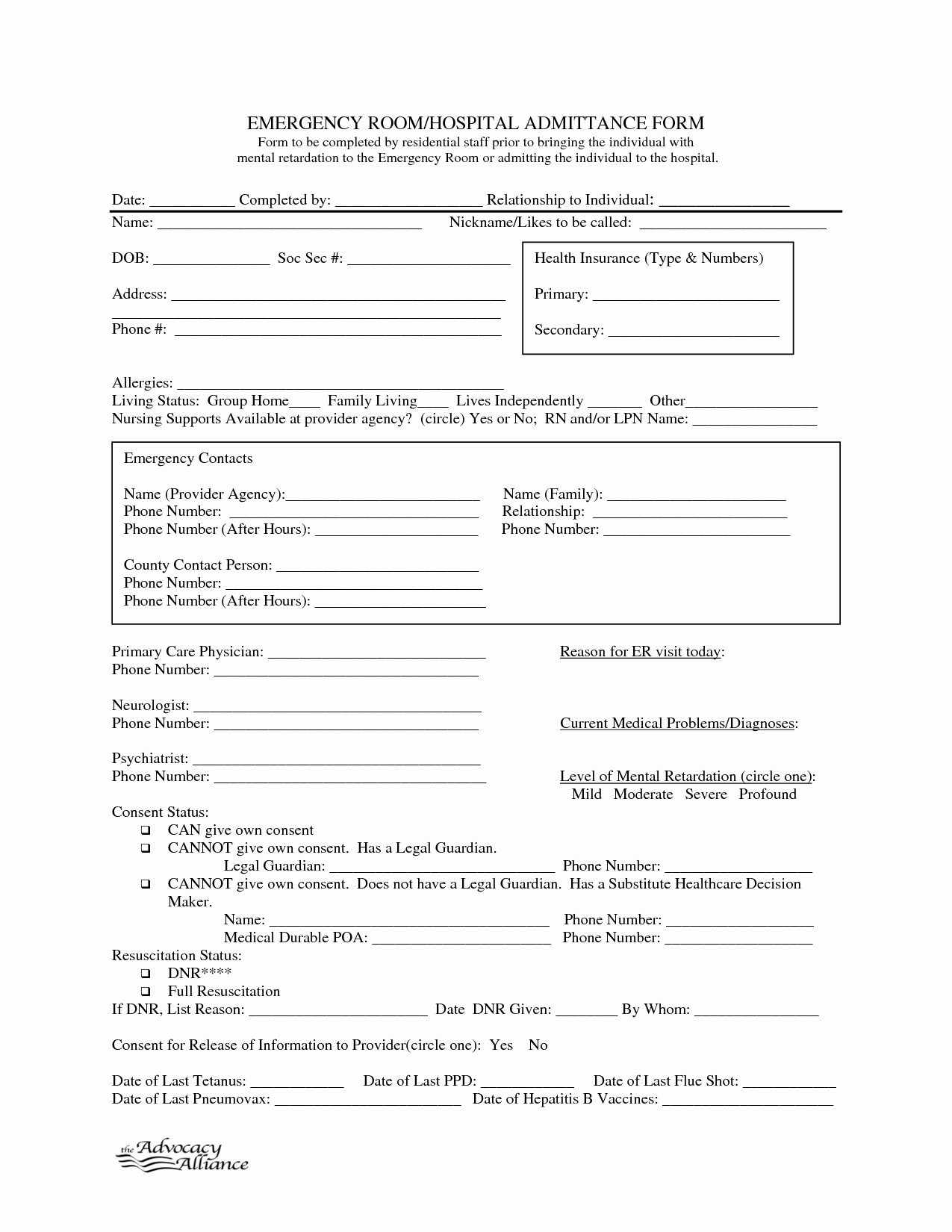 Hospital Release form Template New 9 Best Of Free Printable Hospital Discharge forms