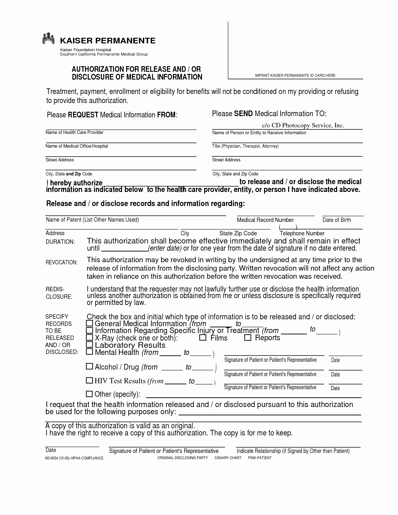 Hospital Release form Template New Hospital Release form Design Templates