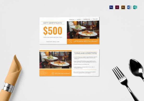 Hotel Gift Certificate Template Elegant Hotel Gift Certificate Templates 10 Free Word Pdf Psd