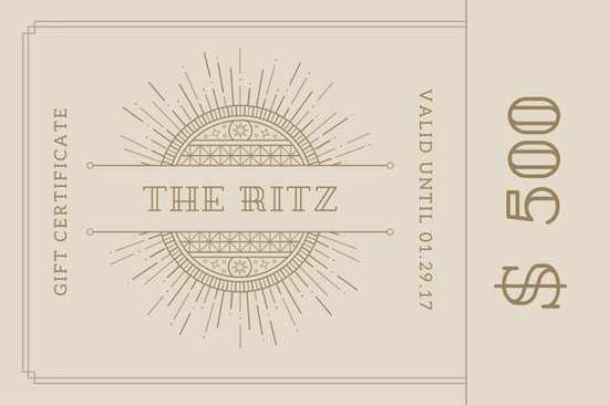 Hotel Gift Certificate Template Lovely Customize 172 Hotel Gift Certificate Templates Online Canva