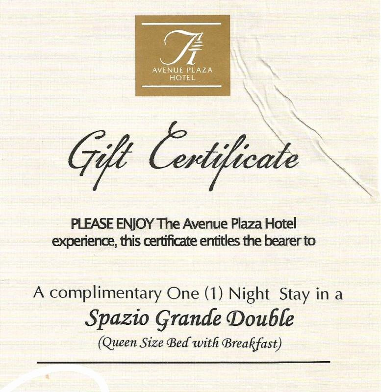 Hotel Gift Certificate Template Unique Graphy Gift Certificate