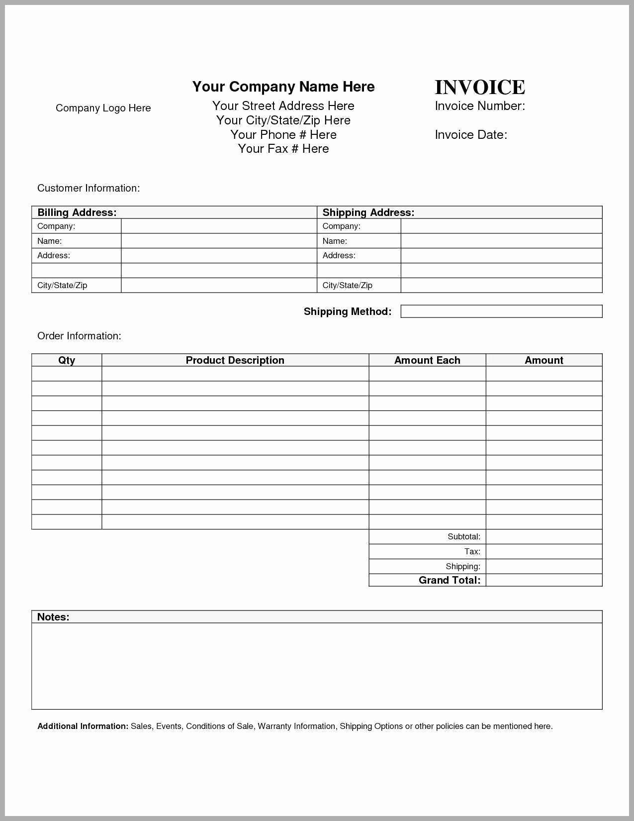 Hourly Invoice Template Excel Beautiful 56 Awesome Hourly Invoice Template Word