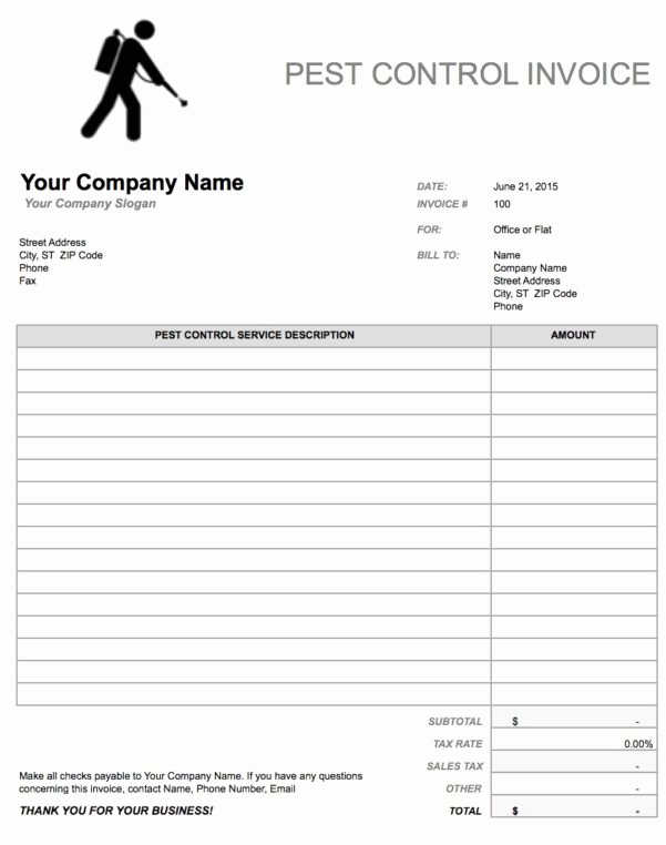 Hourly Invoice Template Excel Fresh Hourly Invoice Template Spreadsheet Templates for Busines
