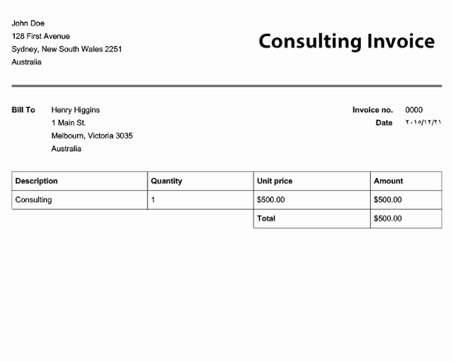 Hourly Invoice Template Excel Lovely Free Download Consultant Invoice Templates Ms Excel