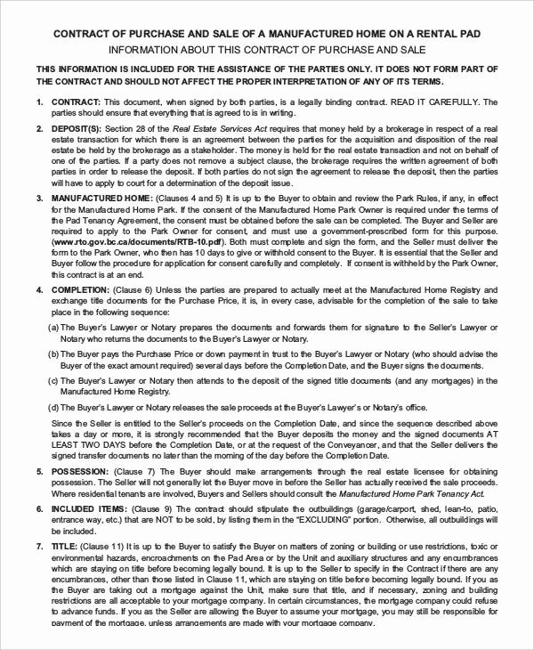 House Buying Contract Template Awesome 13 Purchase Contract Templates Word Pdf Google Docs