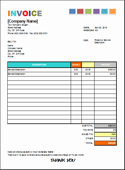 House Cleaning Invoice Template Unique Pin by Alizbath Adam On Microsoft Excel Invoices