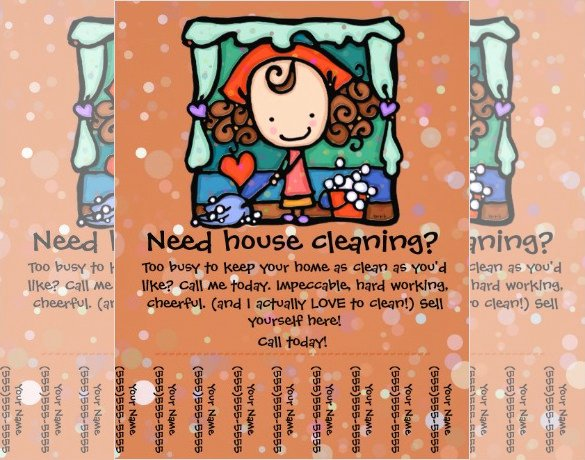 House Cleaning Template Free Awesome House Cleaning Flyer Template 17 Psd format Download