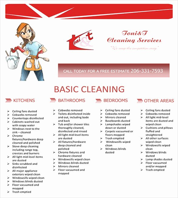 House Cleaning Template Free Best Of House Cleaning Flyer Template 17 Psd format Download