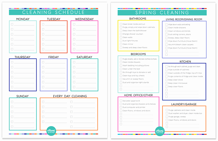 House Cleaning Template Free Luxury Pretty Weekly Cleaning Schedule Template S Daily
