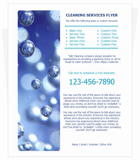 House Cleaning Template Free New Free Cleaning Flyer Templates Cleaningflyer House Cleaning