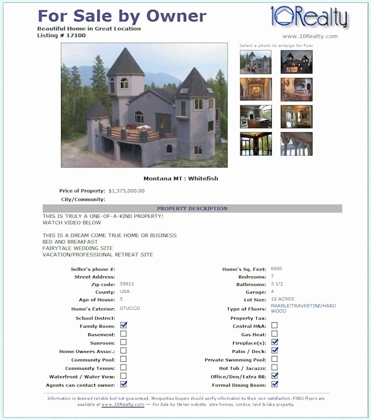 House for Sale Template Best Of 23 Of House Listing Sheet Template