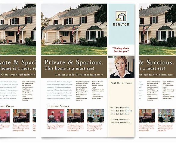 House for Sale Template Elegant 38 Real Estate Flyer Templates Psd Ai Word Indesign