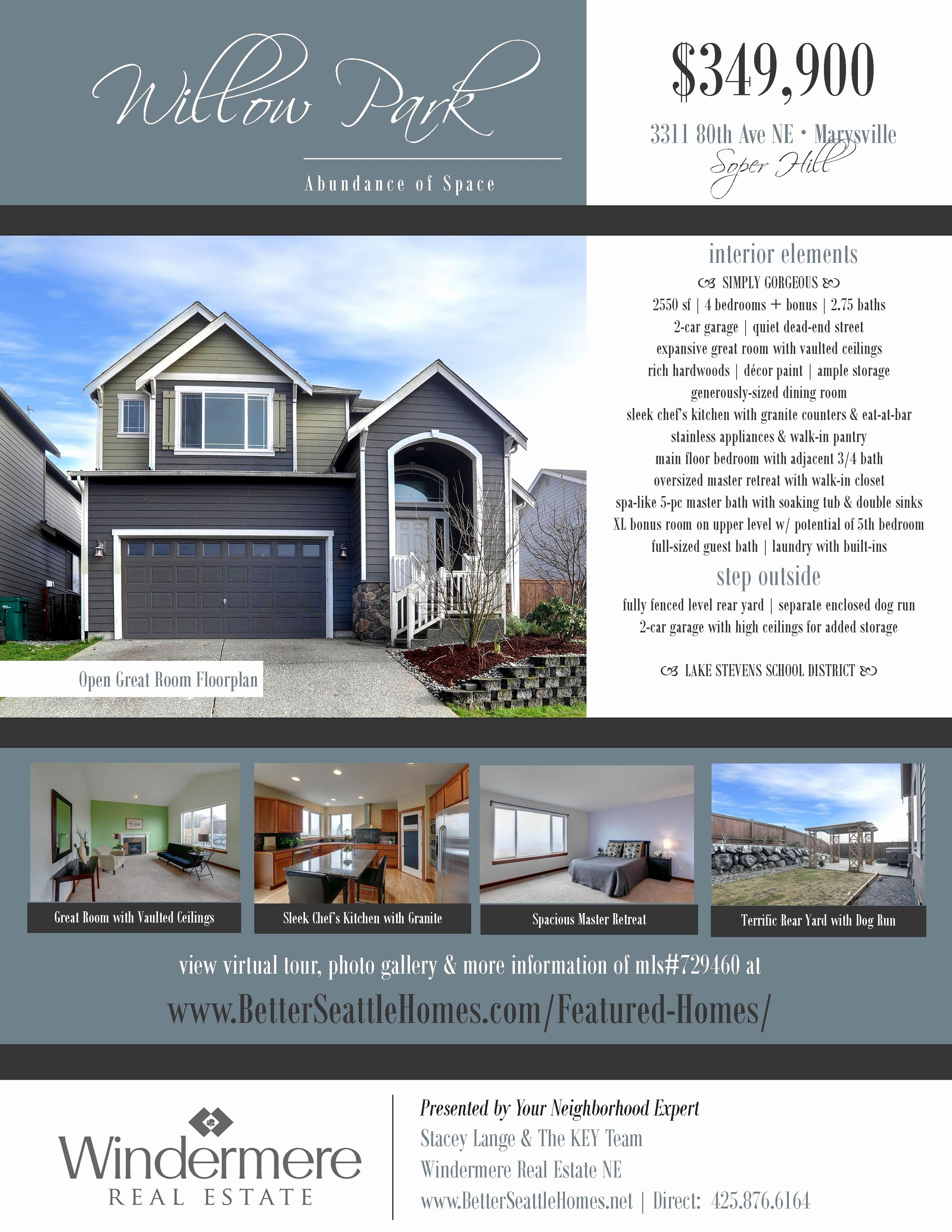 House for Sale Template Fresh 13 Real Estate Flyer Templates Excel Pdf formats