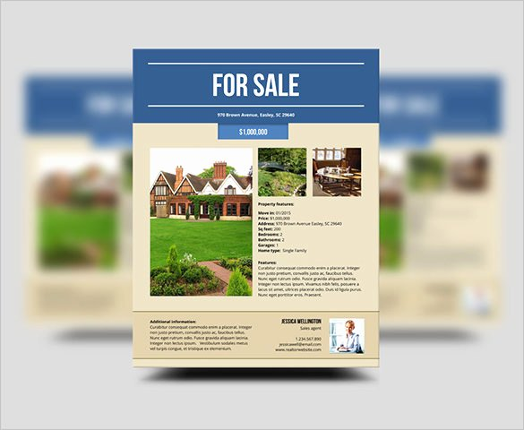House for Sale Template Fresh 22 Stylish House for Sale Flyer Templates Ai Psd Docs