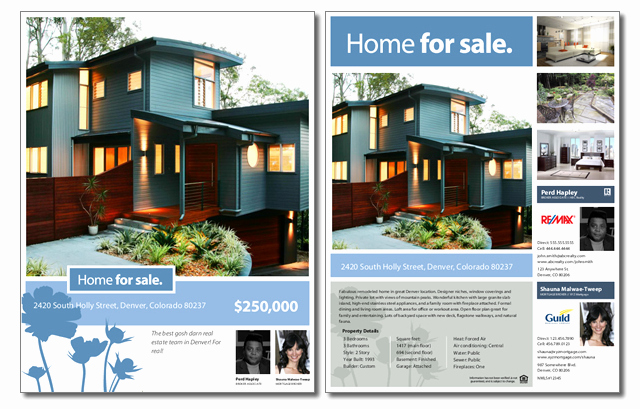House for Sale Template Fresh Free Real Estate Sale Flyer Template
