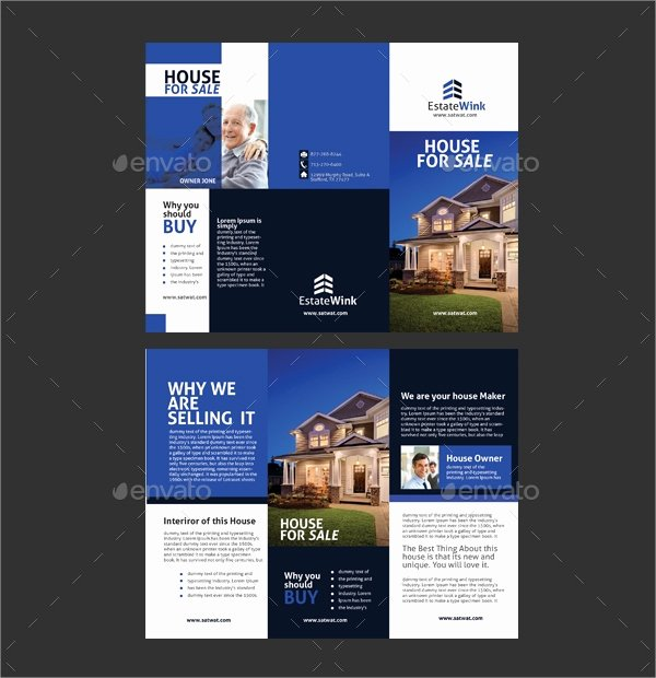 House for Sale Template Inspirational 20 Sales Brochures