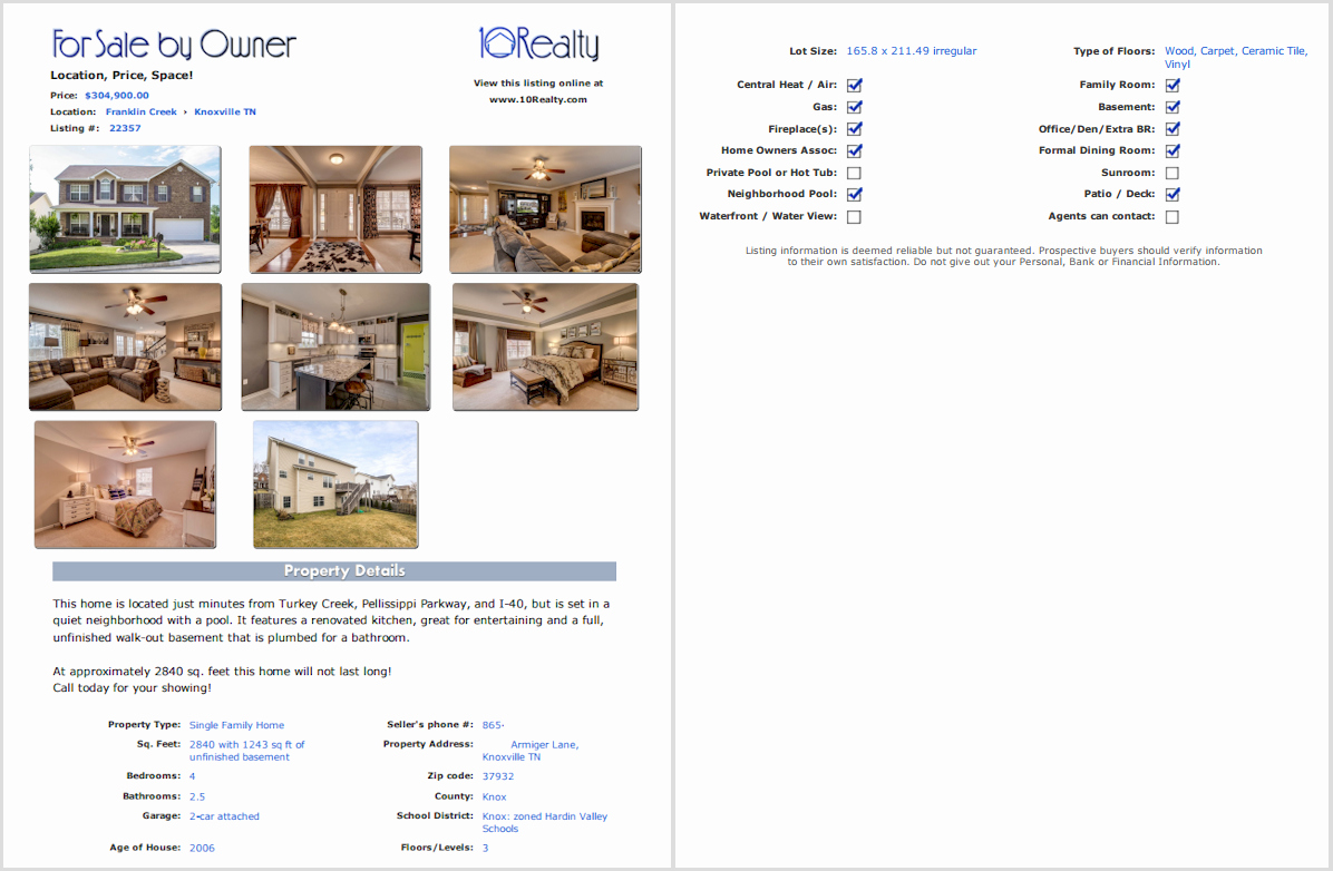 House for Sale Template Lovely Free Fsbo Listing Free for Sale by Owner Website