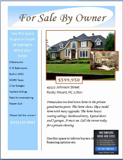 House for Sale Template Lovely Sample Real Estate Poster Template