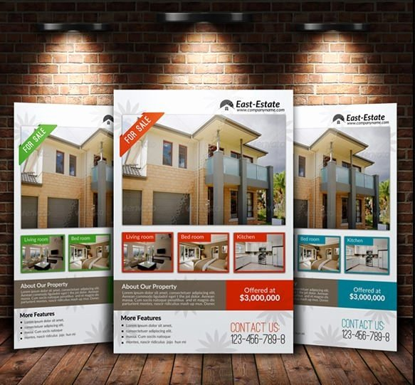 House for Sale Template Luxury Gallery Home for Sale Flyer Pinkturbanfo
